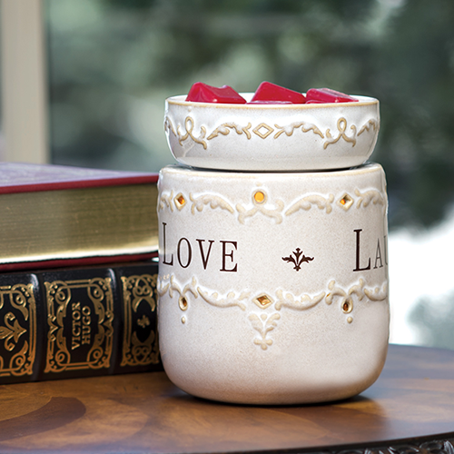 Illumination Fragrance Warmer Live Laugh Love