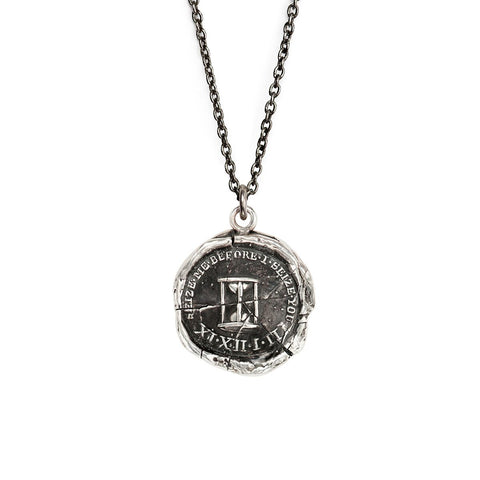 Sterling Silver 18'' Necklace- Seize the Moment