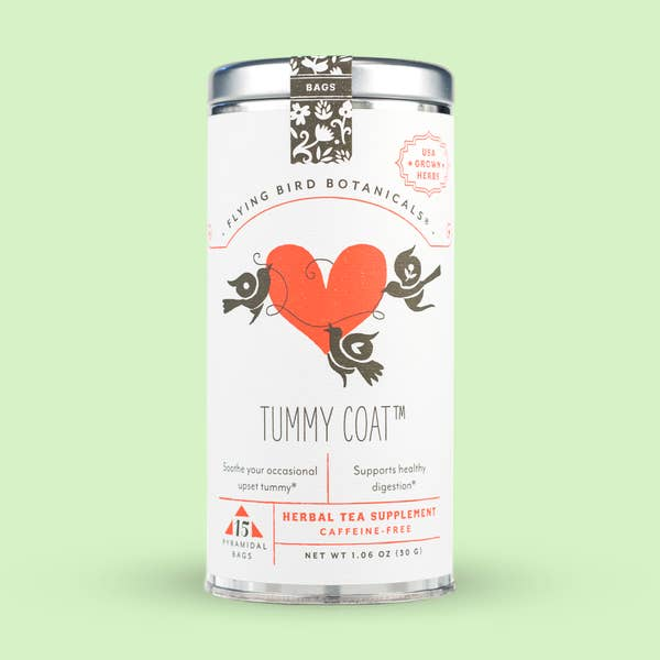 15 Bag Tin: Tummy Coat
