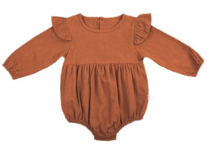 Abigail Long Sleeve Onesie Autumn