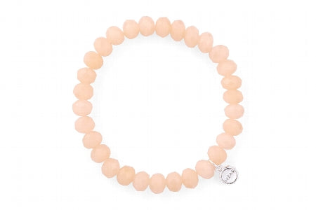 Clarksville Bracelet  Peach Dreams 8 mm