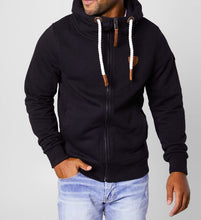 Load image into Gallery viewer, Men's Zeus Hoodie Black