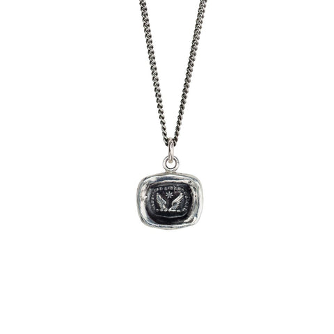 Sterling Silver 16'' Necklace- Ambition