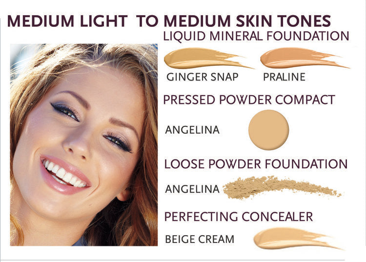 Advanced Mineral Makeup Liquid Mineral Foundation (3 Shades Available)