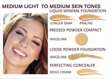 Load image into Gallery viewer, Advanced Mineral Makeup Liquid Mineral Foundation (3 Shades Available)