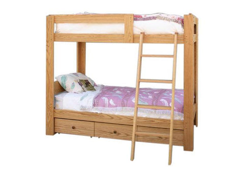 Loft Bed with Optional Bunk