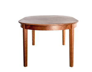 Oval 4-Leg Table Dining or Crafting furniture custom handcrafted w/ solid hardwood using Amish joinery then hand-finished