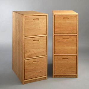 Contemporary 3-Drawer File Cabinet, Lateral Deskmate Filing Cabinet, Office Furniture for Storage & Hanging File Folders
