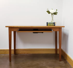 Small Table Desk by Hardwood Artisans in Culpeper, VA is the perfect computer desk for college, high school or any student