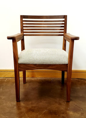 Beehive Chair (side or arm chair) Quality Solid Hardwood Furniture for Foyer Kitchen Dining Room Breakfast-Nook Bedroom Den