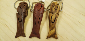 Chapman Wood Key Rings