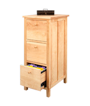 Craftsman 3-Drawer File Cabinet in Maple