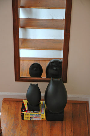 Simply Beautiful Mirror in Walnut would make a unique exclusive elegant gift crafted at Hardwood Artisans near Reston, VA