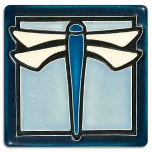 Motawi Art Tile - 4x4 Dragonfly