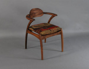 Linnaea Chair in Walnut, Hardwood Artisans