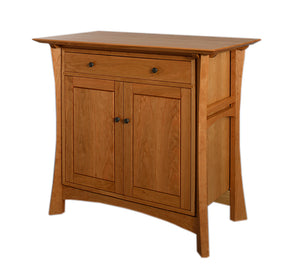 Waterfall Cabinet in Natural Cherry is made-to-order furniture available online and for delivery in Virginia, Maryland & DC