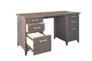 InTransit Desk w/ minimum length & depth for kids room, dorm room, small apartment, or condo office furniture in VA, MD, & DC