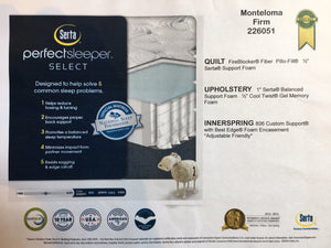 Serta PerfectSleeper: Monteloma Firm Mattress