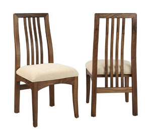 Century Chair in Walnut handcrafted dining furniture w/ your choice of upholstered, wood, or leather style seats near Fairfax