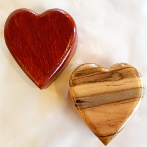 Heart Jewelry Box is each one handmade to be shared as a gift, award, reward, or bestowal handed down through generations