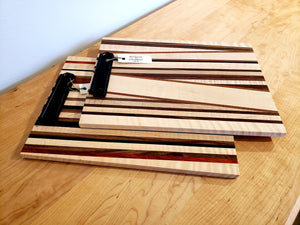 Javier Clipboards shows a unique assortment of hardwood, handmade for office supplies and is sustainable at Hardwood Artisans