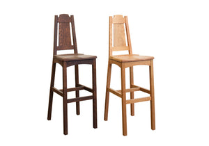 Limbert Stool is a bar / counter-height natural solid hardwood Kitchen / Bar Chair, Bar / Counter Stool Hand Made in Virginia