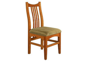 Artisan Chair (side or arm chair) demonstrates Quality Comfortable Solid Hardwood Furniture handcrafted at Hardwood Artisans