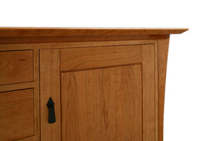 Waterfall Shogun Chest in Walnut features handcrafted bedroom furniture dresser by Hardwood Artisans Brookeville MD