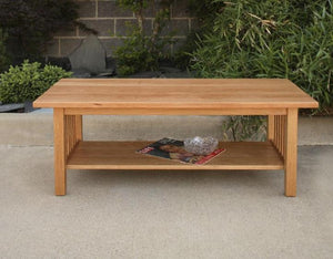 Crofters Coffee Table in Cherry without drawers, heirloom quality Living Room Furniture handcrafted in Virginia near Herndon
