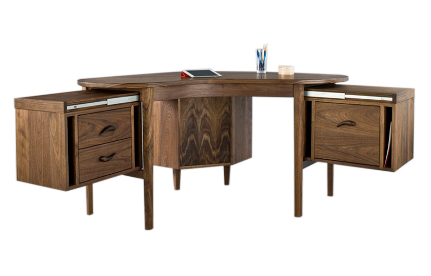 Motus Desk Hardwood Artisans Handcrafted Office Furniture