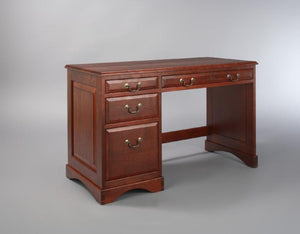 Custom Office Designs - Classic Jefferson Desk in Cherry w/ Appalachian Stain by Hardwood Artisans near Prince William County
