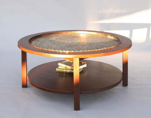 Coffee Table in Mahogany shows custom designed and handcrafted hardwood furniture by Hardwood Artisans near Kensington, MD