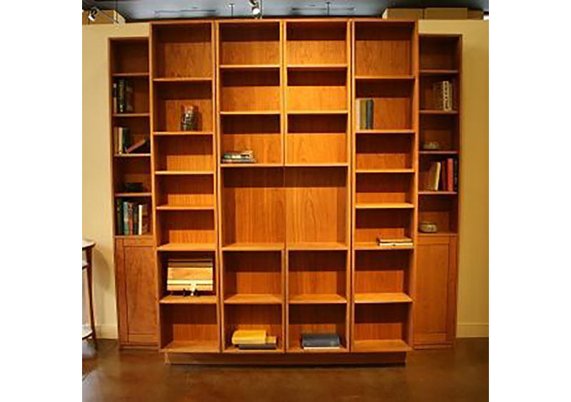 Bi Folding Bookcase Wall Bed   Hardwood Artisans