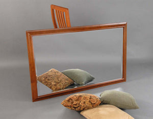 Simply Beautiful Mirror in Cherry with Mahogany Wash for Horizontal/Vertical placement, sustainable furniture near Oakton, VA