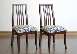 Century Side Chairs in Cherry with Royal Lacquer finish, Hardwood Artisans