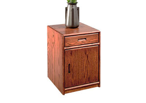 Contemporary Nightstand is in the Danish Modern bedroom furniture cabinet style by Hardwood Artisans available near Vienna VA