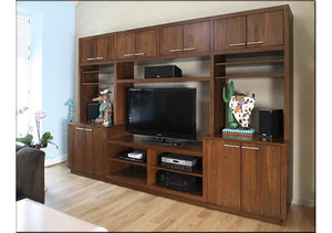 Hardwood Artisans Custom Entertainment Center