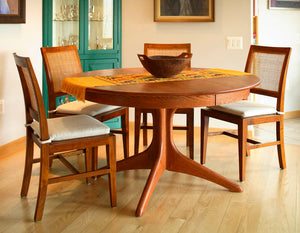 Walden Large Extension Table in Red Oak with English Oak finish kitchen and dining room furniture order online for delivery