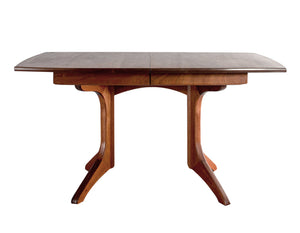Middleburg Table in Mahogany with lots of leg room hand-picked, custom made to order heirloom dining furniture near Olney, MD