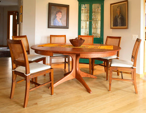 Walden Large Extension Table in Red Oak with English Oak