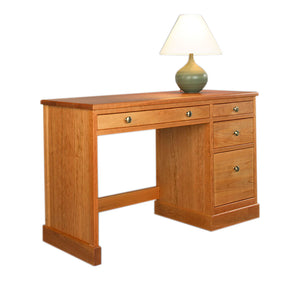 Small Shaker Desk w/ pencil drawer & two drawers is Classic American Solid Wooden Office Furniture for student homework in VA