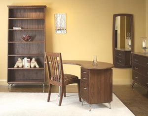 Custom Linnaea Office in Walnut
