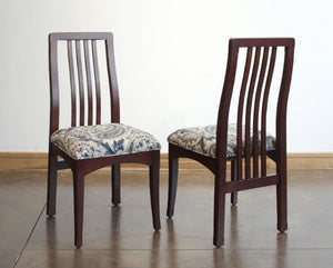 Century Side Chairs in Cherry with Royal Lacquer finish