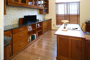 Office Built-Ins by Hardwood Artisans built-in cabinets and shelving for Law, Doctor, Professional Offices near Clifton VA