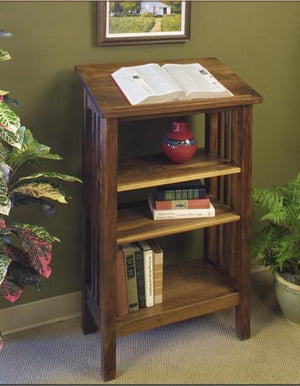 Lectern by Hardwood Artisans handmade in hardwood used for commercial lobby, library, dictionary, map, pulpit, or music stand