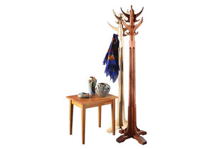 Coat Rack Hall Tree Stand w/ End Table Made-to-Order furniture order online for delivery in Virginia Maryland & Washington DC