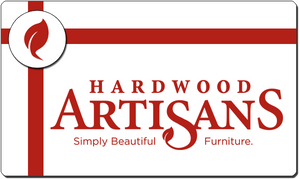 Hardwood Artisans Gift Card, Gift Certificate, Gift Voucher, Gift Token, Money Card, Prepaid cash alternative for purchase