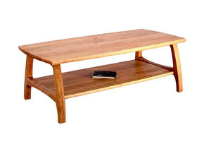 Linnaea Coffee Table in Natural Cherry, Hardwood Artisans