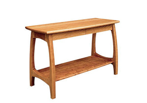 Linnaea Sofa Table in Cherry, Hardwood Artisans