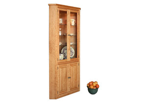 Shaker 5-Sided Corner Cabinet is a good solution for storage in tight spaces offering stylish premium features in VA, MD & DC